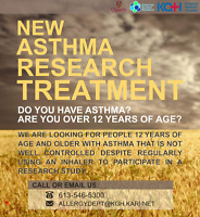New Asthma Research Treatment