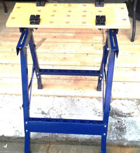 Workbench (folding)  in new condition  .... Best offer