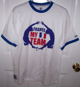 France 2010 Fifa World Cup T Shirt and France Soccer Cap London Ontario image 3