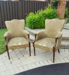 VINTAGE SIDE CHAIRS - SET OF 2 REDUCED