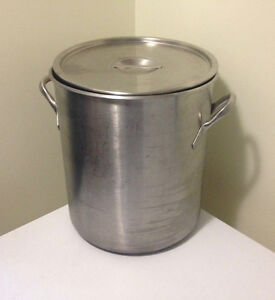Vollrath 38L Stainless Stock Pot with Cover