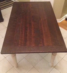 Handsome Wormy Maple Harvest Table - Reduced Price