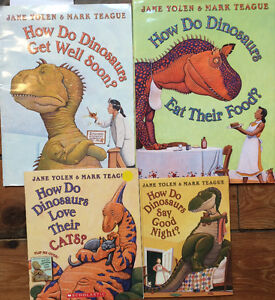 HOW DO DINOSAURS..picture books $3 each or all 4 for $10