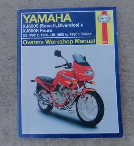 Yamaha XJ-600 repair manual