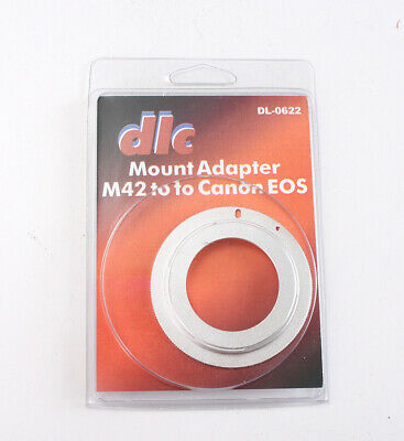 DLC ADAPTER TO USE M42 LENSES ON CANON EOS MOUNT CAMERAS/204510 for sale  Shipping to India