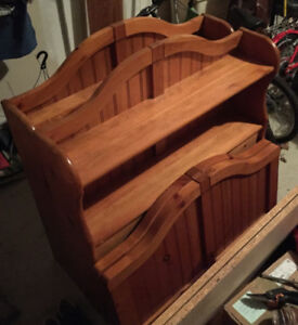 Two mate's beds for sale; teak-coloured; $60 each/$100 for pair