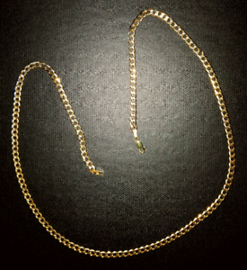 "24"" gold chain 1 year old Charm Diamond"