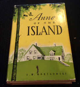 1966 Edition of Anne of the Island by Lucy Maud Montgomery