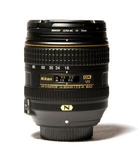 New NIKON AF-S DX NIKKOR 16-80mm f/2.8-4E ED VR