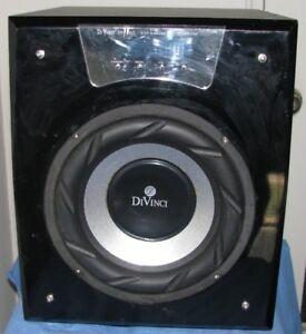 DiVinci Innovative Sound  Subwoofer w. 5.1 Amplifiers
