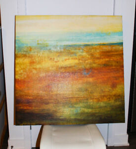 Beautiful abstract painting 34 1/2''x 34 1/2''