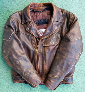 """""""Chief"""" Ultimate Leather Motorcycle Jacket XL"""