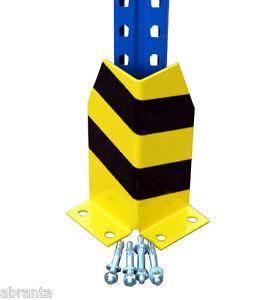 Anfahrschutz Palettenregal 30cm hoch, Rammschutz Eckrammschutz mit 4Bolzenanker