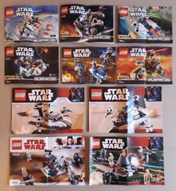 Lego Star Wars Bundle 100% Complete Mint Condition