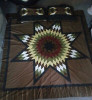 Custom Made Star Blanket Quilts