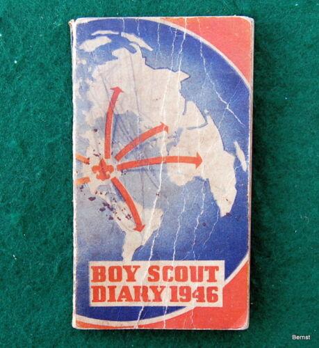 VINTAGE  BOY SCOUT 1946 DIARY