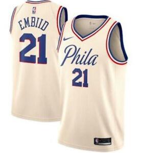 Joel Embiid Philadelphia 76ers Cream City Edition Jersey