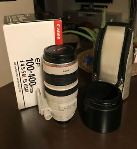 Canon EF 100-400mm f/4.5-5.6L IS USM | In Great Condition