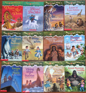 MAGIC TREE HOUSE chapter books 12 for $15