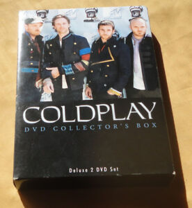 DVD OF BAND COLDPLAY COLLECTORS 2 DVD SET