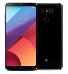 Brand new LG G6 32GB H873 Black unlocked smartphone Canada model