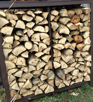 Half Face Cord Partially Seasoned Hickory For Smokers/BBQ