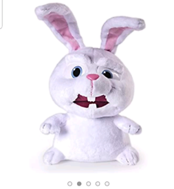 The Secret Life of Pets Snowball Deluxe Talking 12 Inch Plush Buddy