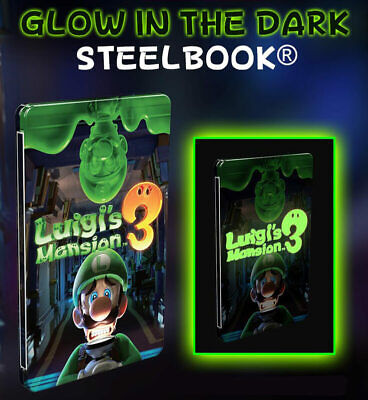 Steelbook Luigi's Mansion 3 Collector Limited Nintendo Switch EU Well packed New
