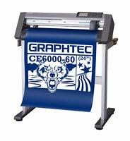 Graphtec CE6000 Vinyl Cutter 24'' / Lettrage / Art / Vêtements