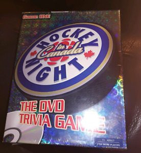 NEW Hockey Night in Canada DVD Trivia Game