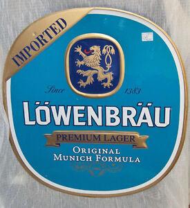 Lowenbrau Premium Lager Tin Sign Belleville Belleville Area image 1