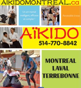 Cours Aikido a montreal - ecole internationale