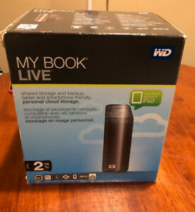 WD My Book Live 2TB Home NAS / Personal Cloud Storage