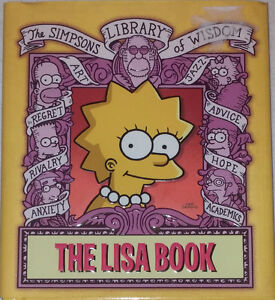 The Lisa The Simpsons Library of Wisdom Comic Book