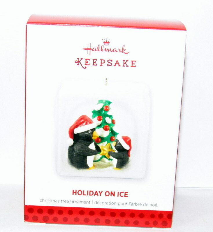Hallmark 2013 Holiday On Ice Penguin Ornament
