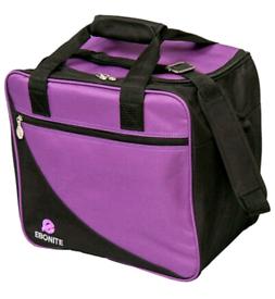 2x BNWT Ebonite bowling ball bags - purple or pink