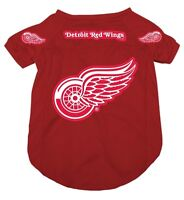Licenced NHL Detroit Red Wings Jersey for Dogs[new]