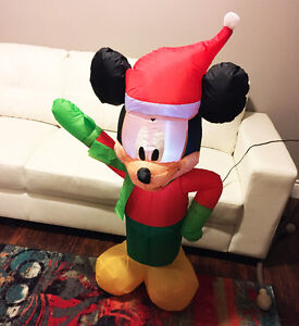 Electric Airblown Mickey Mouse Christmas Inflatable Decoration