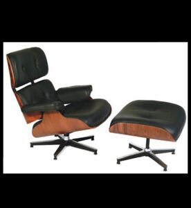 eames Lounge chair with ottmon