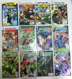 DC COMICS GREEN LANTERN COMIC BOOK COLLECTION