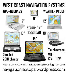 BC Marine NAVIGATION chartplotter GPS systems 5 to 15 inches