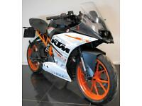 2016 66 KTM RC 390 ABS A2 LICENCE LEARNER LEGAL TRADE SALE WHITE PROJECT 5K CATN