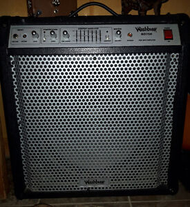 75 watt Washburn bass amp with 18inch speaker