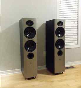 Athena Technologies AS-F2 ++++ AS-C1 center speaker
