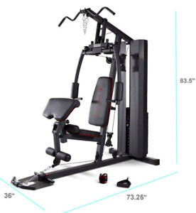 IMPEX MARCY STACK HOME GYM 200 lb weight stack