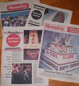 Kitchener Waterloo Newsday Newspaper 1st edition 1978 complete
