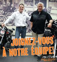 Conseiller en vente de motos Harley-Davidson