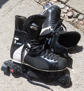 REDUCED    Size 12 Men's CCM ROLLERBLADES