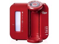 Tommee Tippee Closer to Nature Perfect Prep Machine - Red
