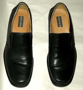 Black Leather Pierre Cardin Loafers Hardly Worn